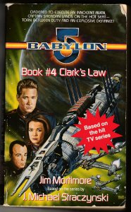 Babylon 5 Book # 4 Clark's Law by John Mortimore