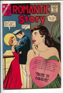Romantic Story #72 1964- Charlton-cruise ship romance-FN