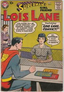 Superman's Girlfriend Lois Lane #6 (Jan-59) FN/VF Mid-High-Grade Superman, Lo...