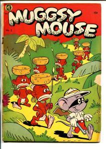 MUGGSY MOUSE #2 1951-ME-RACIALLY INCORRECT-BIG LIPPED NATIVES-SAFARI-good/vg