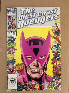 The West Coast Avengers #14