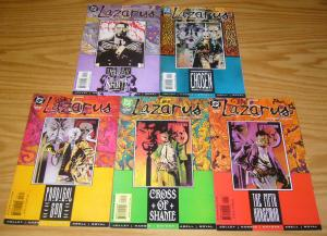Lazarus 5 #1-5 VF/NM complete series TONY HARRIS dan jolley 2000 DC COMICS set