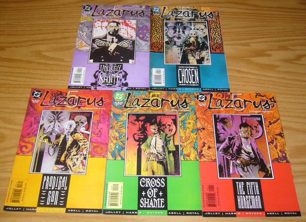 LAZARUS 5 #1-#5 SET DC COMICS JOLLEY // HARRIS // SNYDER // ABELL // ROYAL NM-