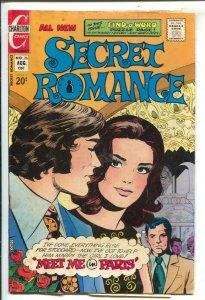 Secret Romance #26 1973-Charlton-puzzle page-Meet Me In Paris-VG