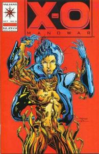 X-O Manowar (1992 series) #21, NM + (Stock photo)