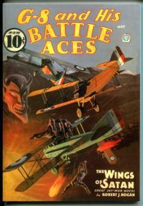 G-8 & His Battle Aces #32 5/1936-Adventure House reprint-2009-Hogan-pulp-VF/NM