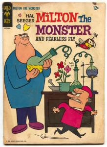 Milton the Monster #1 1966- Gold Key comic- Fearless Fly VG-