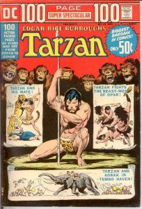 DC 100 PAGE SUPER SPECTACULAR DC-19 F-VF TARZAN BY MANN COMICS BOOK