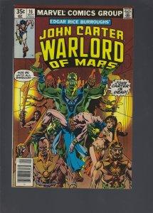 John Carter Warlord of Mars #16 (1978)