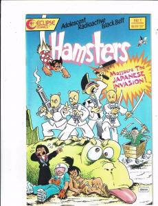 Lot of 2 Hamster/ Tales from the Crypt Eclipse/Gladstone Comic Books #1(2) KS10