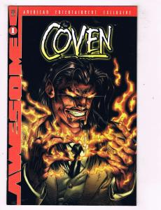 Lot Of 5 The Coven Awesome Comic Books # 1 2 3 4 5 TW12