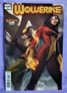 Benjamin Percy WOLVERINE #2 Gerald Parel Spider-Woman Variant (Marvel, 2020)!