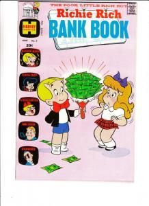 Richie Rich Bank Book #5 (Jun-73) VF/NM High-Grade Richie Rich