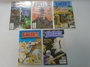 Smax set #1-5 8.0 VF (2003)