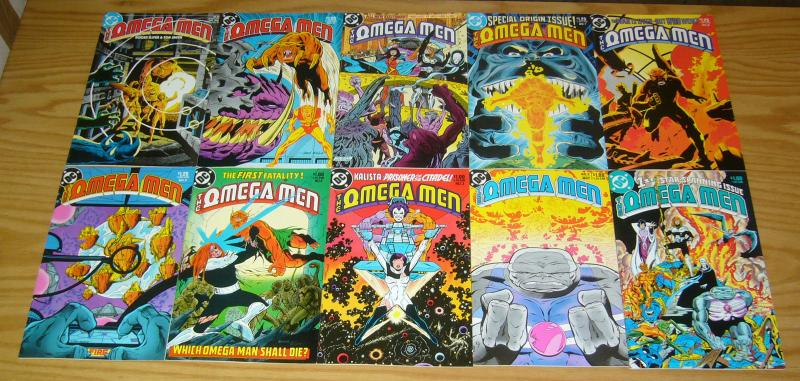 Omega Men #1-38 VF/NM complete series + (2) annuals - 1st appearance of lobo 3 5