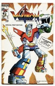 Voltron #1 1985 Modern-First issue-comic book NM-