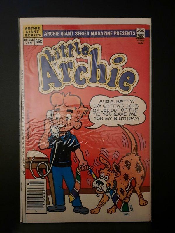Archie Giant Series Magazine #556 (1986) Little Archie