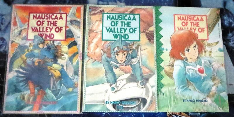 Nausicaa- The Valley of the Wind Collection #1! 3 issues- large format- Miyazaki
