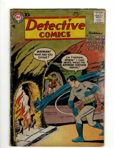 Detective Comics # 247 VG DC Comic Book Batman Robin Joker Gotham Penguin KD1