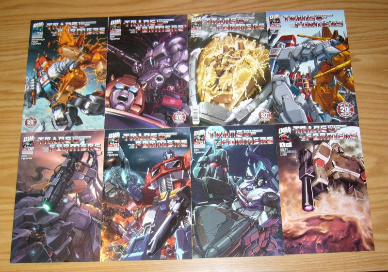 Transformers: Generation 1 vol. 3 #0 & 1-10 VF/NM complete series + variant