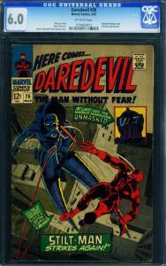 DAREDEVIL #26 CGC 6.0-1967-MARVEL-GENE COLAN --STILT-MAN 1074829012