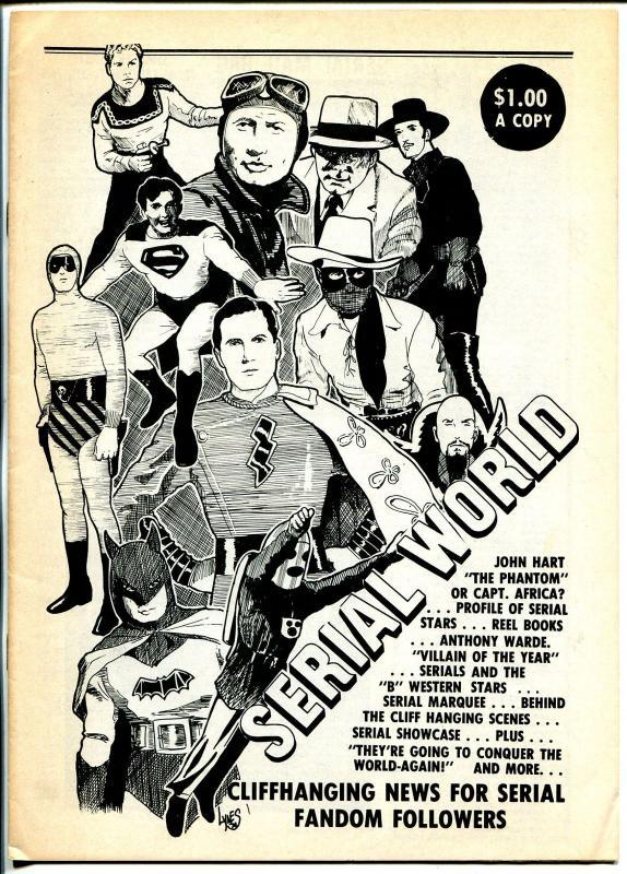 Serial World #2 1974-Tom Tyler-Anthony Warde-Gene Autry-Victor Jury-FN