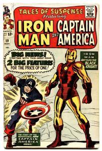 TALES OF SUSPENSE #59 comic book 1964-Captain America-Iron Man-FN