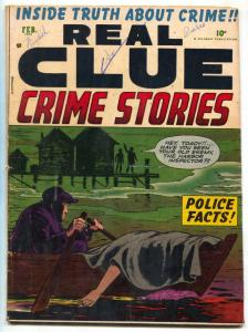 Real Clue Vol. 7 #12 1953- Golden Age pre-code comic VG