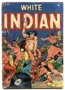 White Indian #11 1953-Frank Frazetta- 1st issue VG-