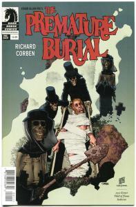 The PREMATURE BURIAL #1, VF/NM, Richard Corben, Edgar Poe, Horror, 2014