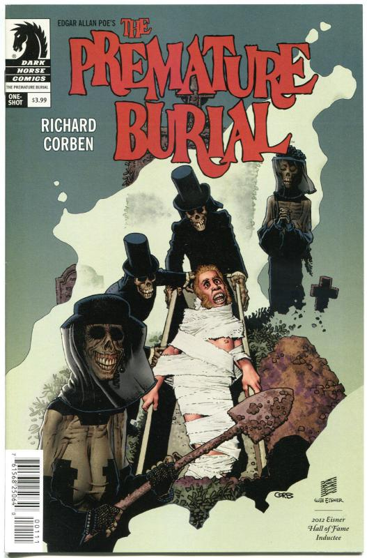 The PREMATURE BURIAL #1, VF/NM, Richard Corben, Edgar Poe, Horror, 2014
