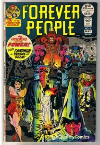 FOREVER PEOPLE #8, VF, Jack Kirby, Bondage, Sandman, 1972, more JK in store