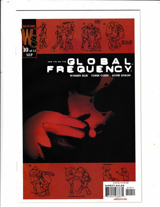 GLOBAL FREQUENCY#10  FN/VF   WILDSTORM COMICS
