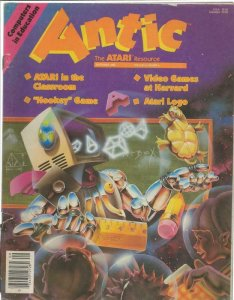 ORIGINAL Vintage Antic Atari Magazine Vol 2 #6 September 1983