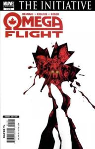 Omega Flight #2, NM- (Stock photo)