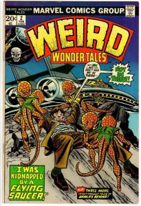 WEIRD WONDER TALES 2 FN  Feb. 1974