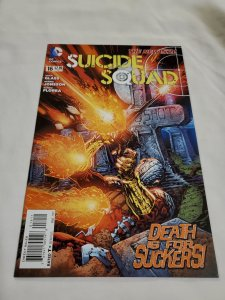 Suicide Squad 16 Near Mint Cover by Ken Lashley