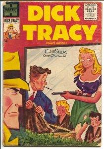 Dick Tracy #103-1956-Harvey-Chester Gould-Bob Powell mystery story-VG-
