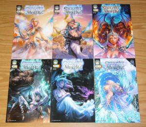 Michael Turner's Soulfire: Shadow Magic #0 & 1-5 VF/NM complete series - set A