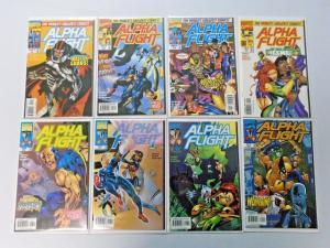Alpha Flight run #2 to #16  2nd Series average 8.5 (1997)