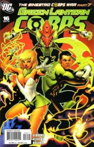 Green Lantern Corps (2006 series) #16, NM- (Stock photo)