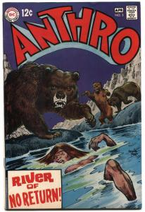 Anthro #5-DC HOWIE POST ART-DC-1969-vf