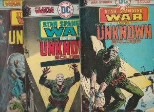 Star Spangled War Stories Set #187-93 (Nov-70) VG/FN Mid-Grade Unknown Soldie...