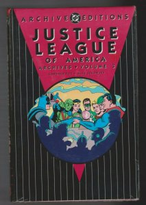 JUSTICE LEAGUE OF AMERICA - ARCHIVES VOL. 3 HARDCOVER 1994 DC COMICS SEALED