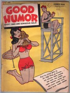 Good Humor #1-Summer 1948-Charlton-1st issue-Skelton-Bob Hope-gags-cartoons-FR/G