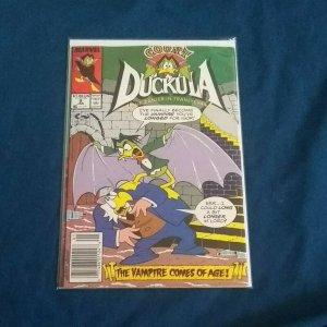 Count Duckula #9 Marvel 1989 VF