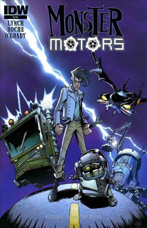 Monster Motors #1 VF/NM; IDW | save on shipping - details inside