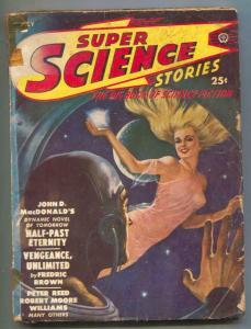 Super Science Pulp July 1950- John D MacDonald- GGA cover