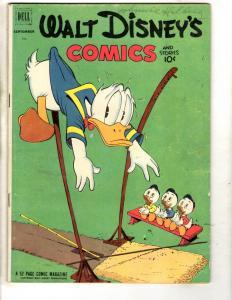 Walt Disney's Comics & Stories # 144 FN Dell Golden Age Comic Book JL19