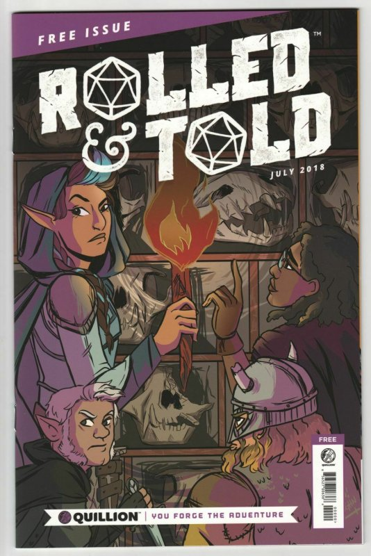 Rolled & Told #0 (Lion Forge, 2018) NM